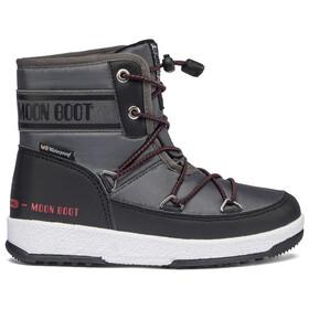 Moon Boot Mid WP 2 Laarzen Jongens, grijs/zwart